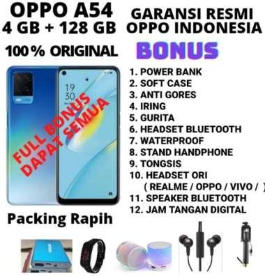 harga OPPO A54 RAM 4/128 GRASS GARANSI RESMI BONUS HEADSET Blibli.com