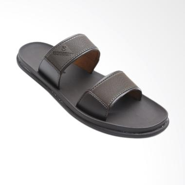 Neckermann Dayton 522 Sandal Pria - Dark Brown