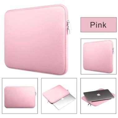 harga SCL02 Softcase Laptop Notebook 14 inchi Zipper Polos pink Blibli.com