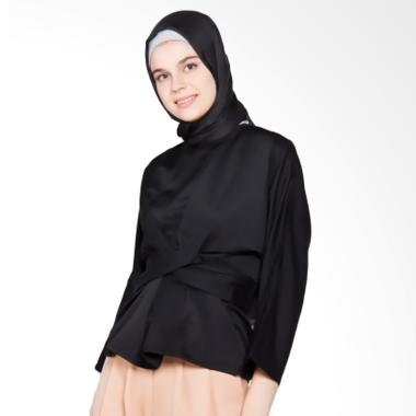 Covering Story Rajwa Top Blouse Muslim - Black