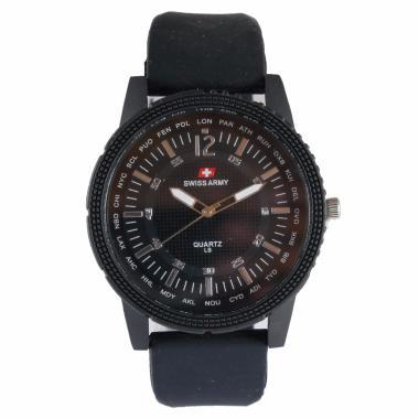 Swiss Army SAX1058-01 Jam Tangan Pria - Black
