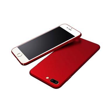 QCF Hardcase Baby Skin Eco 360 Case ... (Ukuran 5.5 Inch) - Merah