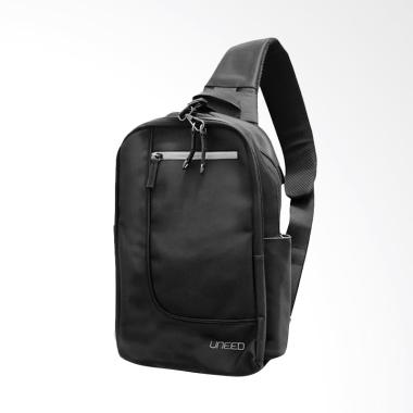 Uneed UB214 Max Sling Bag for Tablet 10 Inch - Black