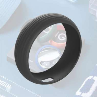 harga Silicone Case Sleeve Protective for SONG X TWS Earphone Portable  black black Blibli.com