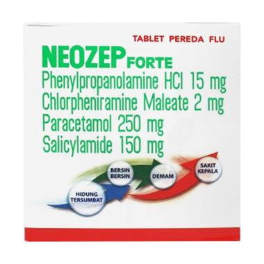Darya Varia Neozep Forte Tablet [5 Strip/4 Tablet]