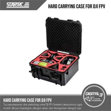 harga STARTRC Hard Case Tas Koper DJI FPV Waterproof ABS Protective Bag Blibli.com
