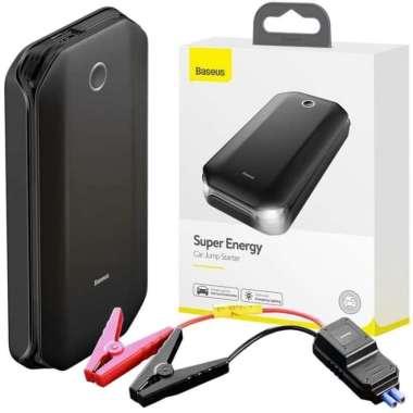 harga BASEUS SUPER ENERGY CAR JUMP START 8000mAh POWERBANK JUMPER MOBIL HItam Blibli.com