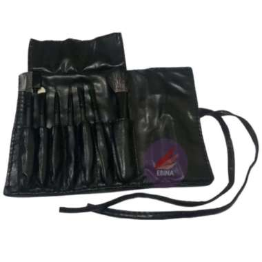 harga Terlaris Kuas Make Up Set isi 7 Pcs Case Kulit Limited Blibli.com