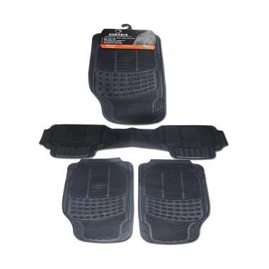 DURABLE Comfortable Universal PVC K ... XJ-L 2014 - Black [3 pcs]