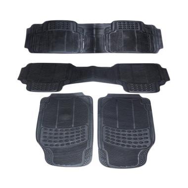 DURABLE Comfortable Universal PVC K ... ki Ertiga - Black [4 pcs]