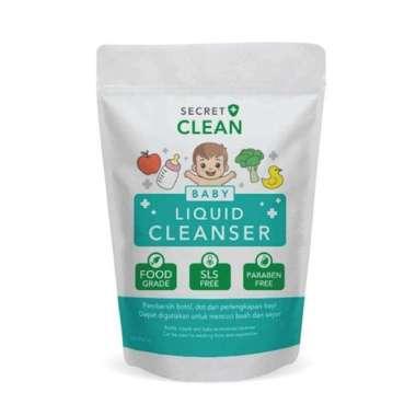 harga Secret Clean Baby Liquid Cleanser Pembersih Botol, Dot, dan Perlengkapan Bayi 450ml - Blibli.com
