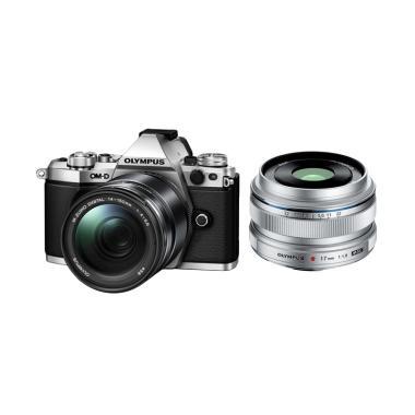 Olympus OMD EM5 MARK II Lens ED 14- ... Kamera Mirrorless - Siver