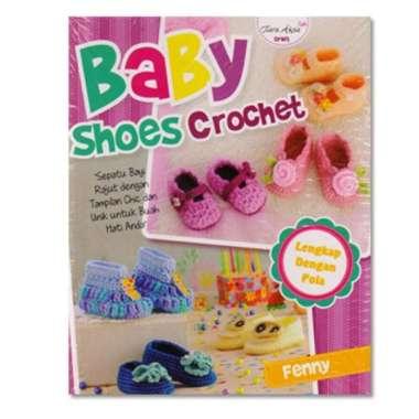 harga BUKU KETERAMPILAN BABY SHOES CROCHET Sepatu Bayi Rajut Blibli.com