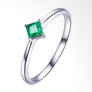 Tiaria Lozenge Emerald Ring