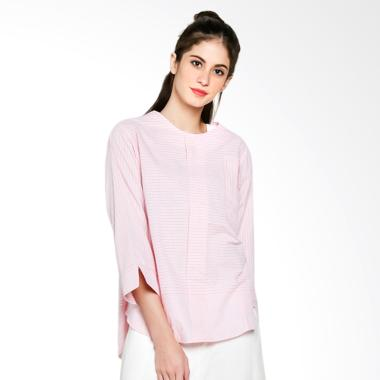 Jessie James 6049-5521 038 Blouse Atasan Wanita - Pink