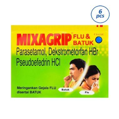 Mixagrip Obat Flu & Batuk [6 Strip/4 Kaplet]