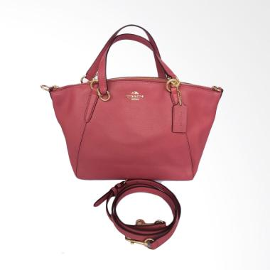Coach F26917 Pebble Leather Small Kelsey Hand Bags Wanita