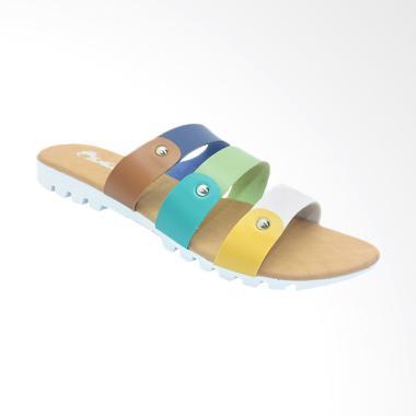 Dr.Kevin 57015 Women Sandal Flats - Combination