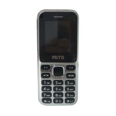 Mito 131 Candybar Handphone - Black [Dual Sim/Camera]
