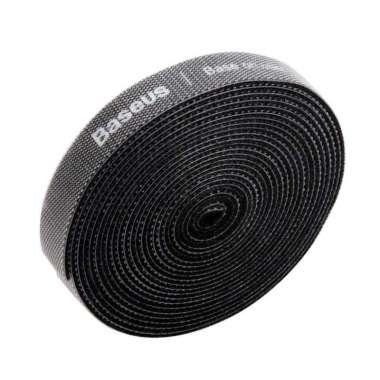 harga VRS Baseus Cable Management Velcro Strap 3 Meter x 14 mm - ACMGT-F09 Hitam Blibli.com