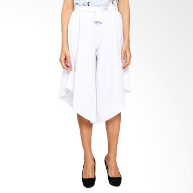 Yoorafashion JP265 Triny Pants Asim ... mal Celana Wanita - White