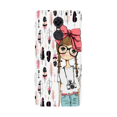 Acc Hp Vintage Girl Drawing E1476 Custom Casing for Xiaomi Redmi 5