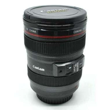 harga Unik gelas minum bentuk lensa kamera EF 24-105mm - 400ml Murah Blibli.com
