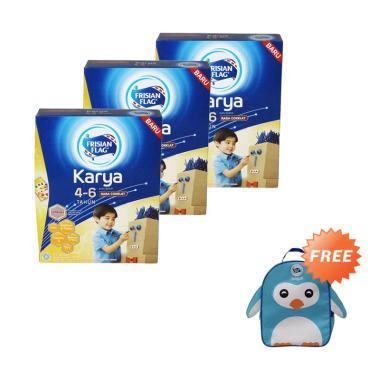 Buy 3 - Frisian Flag Karya 456 Cokl ... ] + Free Tas Anak Penguin