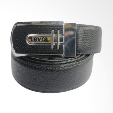 WIN Leather Ikat Pinggang Pria - Hitam [FTP IP-150]