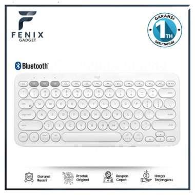 Jual Logitech K380 Keyboard Wireless Multi Device Off White Diskon
