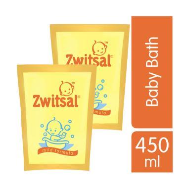 Zwitsal 21155380 Baby Bath Classic PCH RL Shampo Anak [450 mL/ 2 pcs]