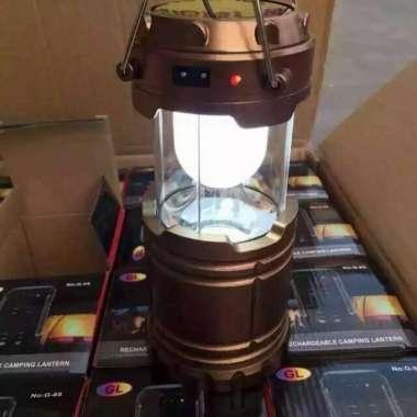 harga Lampu Lantera Emergency Tenaga Solar Sel Multifungsi Powerbank PB 12W Multicolor Blibli.com