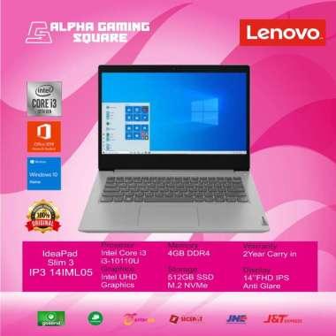 harga Lenovo IP3 14IML05-[Intel Core I3-10110U/4GB/SSD512GB/14