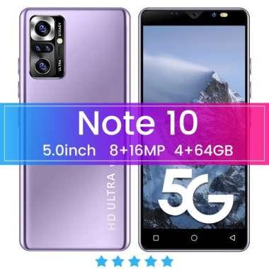harga Promo Handphone Note10+ 6+64 8+128 5.0 Inci Android 9.1 MTK6595 Li-ion 10 Core Ponsel Ungu Blibli.com