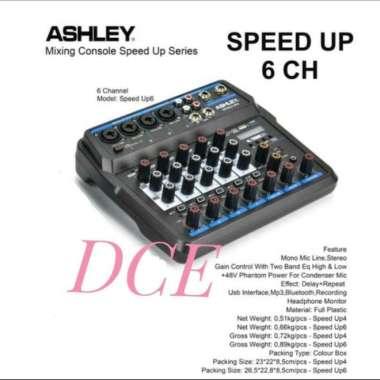 harga Mixer Audio ASHLEY SPEED UP 6 Original 6Channel USB Interface Bluetoot MULTICOLOUR Blibli.com