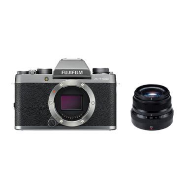 harga Fujifilm XT100 Body Kamera Mirrorless with XF 35mm + Sandisk Sd 16 gb + Sandisk SD Extreme 32Gb Blibli.com