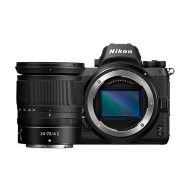 Nikon Z6 kit 24-70mm + FTZ Kamera Mirrorless Free NIkon Z T-Shirt, Voucher Z Lens (Rp 3.000.000) -  Braga Photo & Video