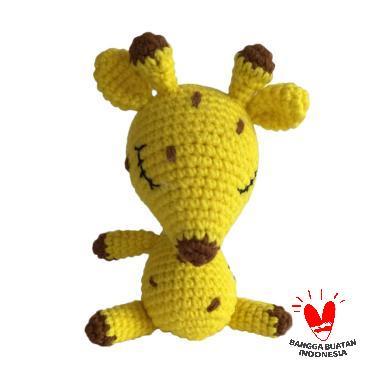 harga Dee Amigurumi Giraff Sleep Boneka - Kuning Blibli.com