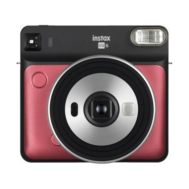 harga Fujifilm Instax Square SQ6 Instant Film Kamera Pocket + Paper Square 1 Pack Blibli.com
