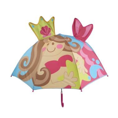 harga Safari 3D Varian Mermaid Payung Lipat Anak - 002 Pink 002 Pink Blibli.com