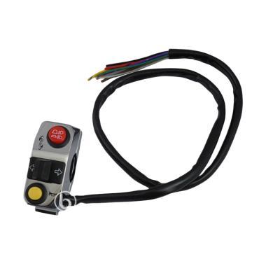 KTC Racing LN77 Saklar or Switch Holder Kiri Custom Klakson Sen Hi on