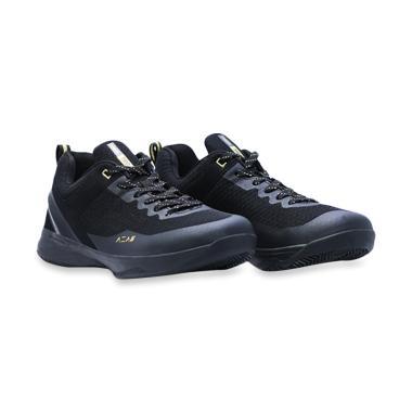 Ardiles Men Aza6 Sepatu Basket Pria - Black Gold