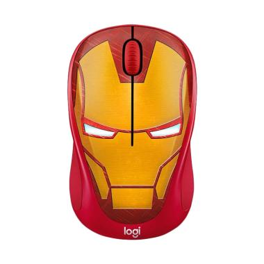 harga LOGITECH M238 Marvel Collection Wireless Mouse Iron Man Blibli.com