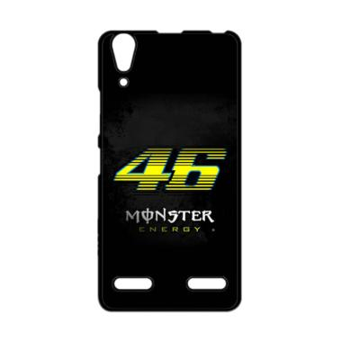 harga Guard Case Valentino Rossi 46 Moster Energy O1203 Custom Cover Hardcase Casing for Lenovo A6000/A6000 Plus/A6010 Blibli.com