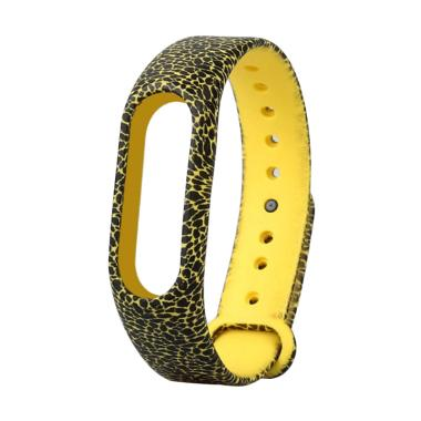 Bluelans #1 Camouflage Flower Replacement Wristband TPU Strap Bracelet for Xiaomi Mi Band 2