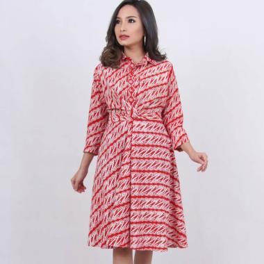 Kichi Batik Carla Dress Batik Wanita