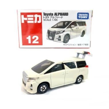 Tomica 824848 #12 Reguler Toyota Alphart 18 Diecast - White