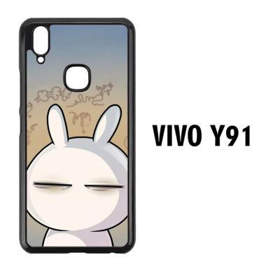 acc hp casing custom hardcase cartoon character flat wallpaper l0485 vivo y91 full01