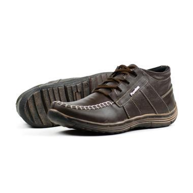harga FORDZA Casual Hand Made Kulit Asli Sepatu Boot Pria Blibli.com