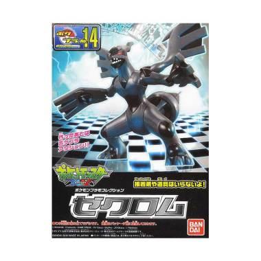 harga Bandai 58289 Pokemon Plamo 14 Zekrom Model Kit Blibli.com